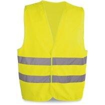 Chaleco de seguridad homologado grabado amarillo