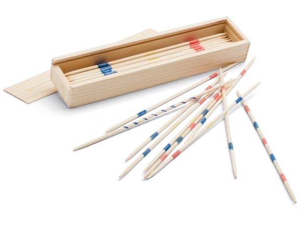 Juego Mikado en caja de madera personalizado