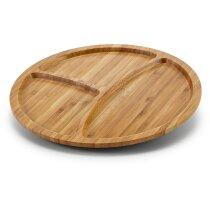 Plato de maderas para tapas personalizado natural