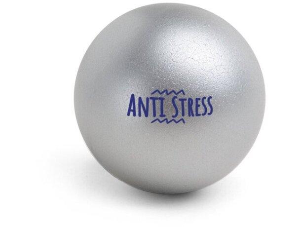 Antiestrés pelota surtido de colores cromado satinado