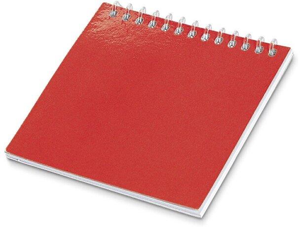Libreta para colorear infantil personalizada roja