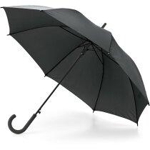 Paraguas mango de plastico personalizado negro