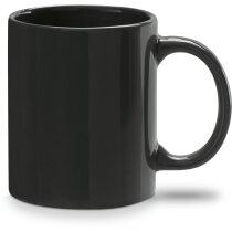 Mug cerámica 350ml negra personalizada