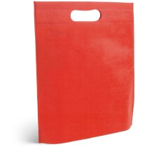 Bolsa non woven colores a elegir roja personalizado