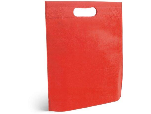 Bolsa non woven colores a elegir personalizada roja