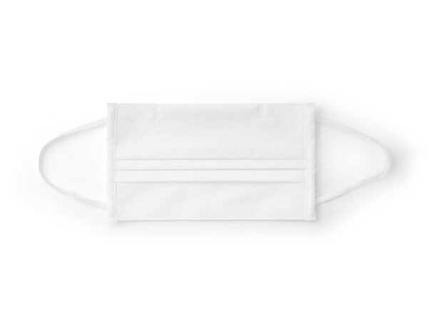Grance. mascarilla textil reutilizable blanco