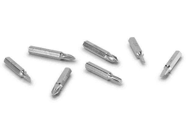 Mini set de herramientas 8 usos negro