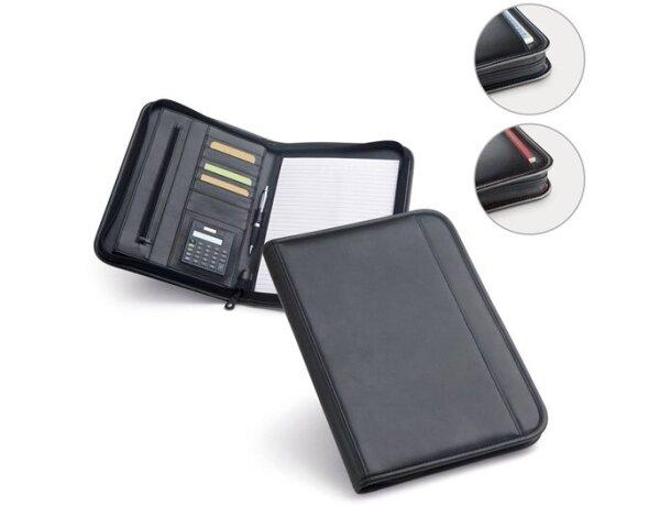 Portafolios a4 de polpiel con calculadora