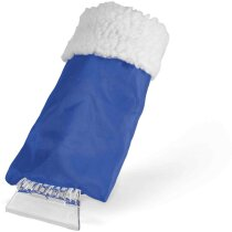 Raspador De Hielo Para Coches Con Guante Personalizado Azul