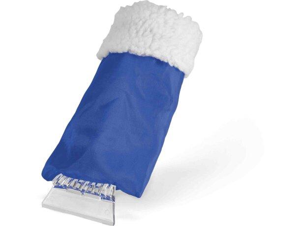 Raspador de hielo para coches con guante barato azul