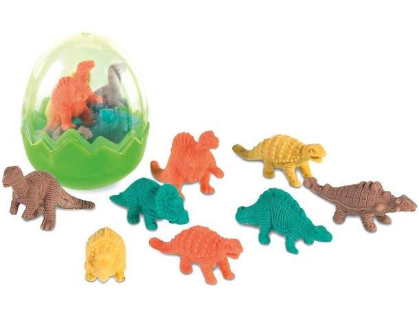 Set de gomas de borrar motivos de dinosaurios