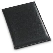 Carpeta porta cuentas de camarero personalizada negra