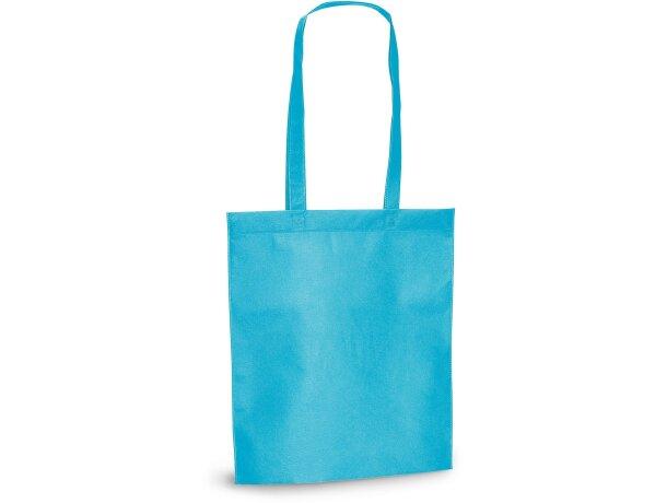 Bolsa de feria de varios colores personalizada azul claro