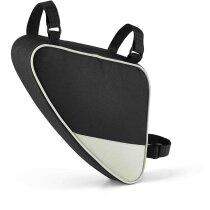 Bolsa para bicicleta de poliéster personalizada gris claro