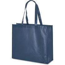 Bolsa non woven laminado personalizada azul