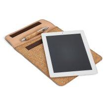 Protector de corcho para tablet marron