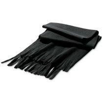 Bufanda en gran surtido de colores personalizada negra