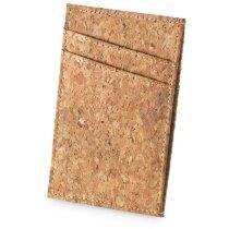 Porta tarjetas ecológico en corcho