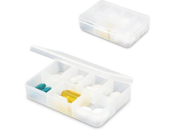 Pastillero de plástico 7 secciones