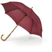 Paraguas sencillo de colores personalizado burdeos