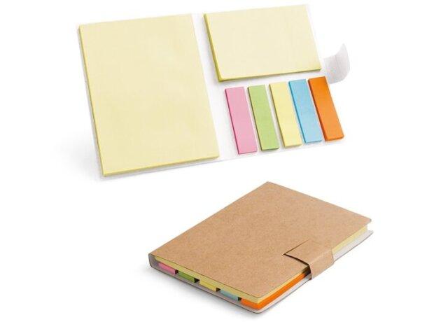 Set de notas adhesivas ecológicas personalizado