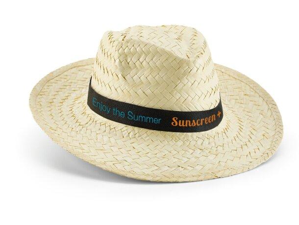 Sombrero de paja clara barato natural