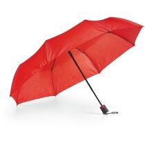 Paraguas plegable básico personalizado rojo