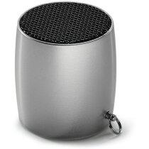 Mini altavoz con micrófono.y bluetooth personalizado cromado satinado