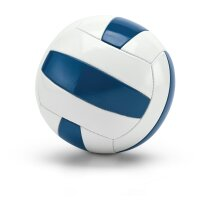 Pelota de volleyball azul