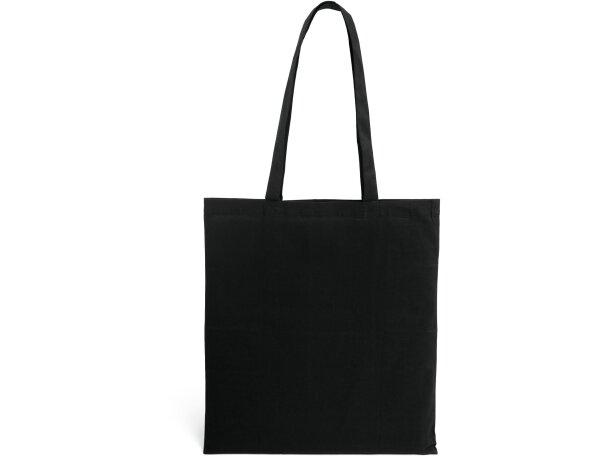 Bolsa 100% algodón gran variedad de colores negra