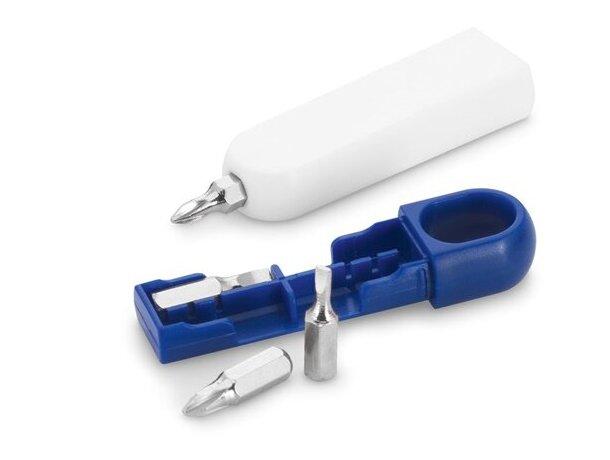 Kit de herramientas con 4 llaves azul barato