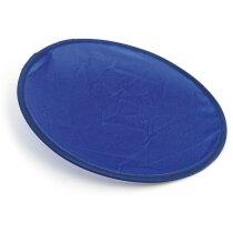 Frisbee plegable con funda azul personalizado
