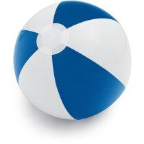 Balón hinchable para playa y piscina personalizado azul
