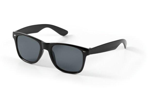 Gafas de sol de colores uv 400 personalizada negra
