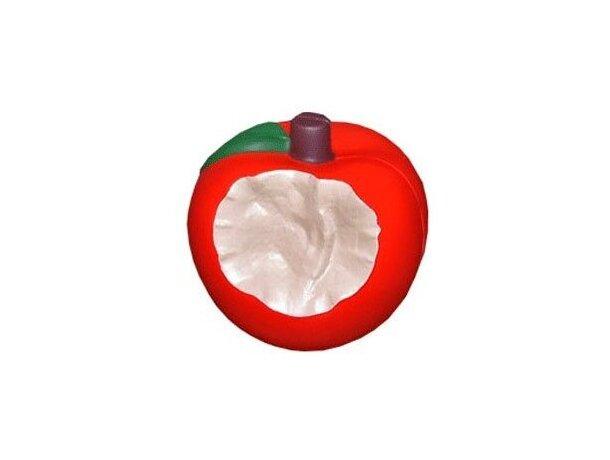Pelota antiestrés manzana mordida personalizada