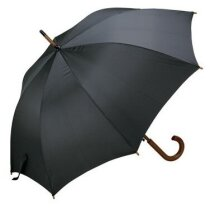 Paraguas clásico de madera barato negro