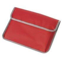 Portadocumentos tamaño A4 rojo