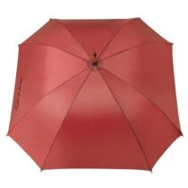 Paraguas automático diseño cuadrado personalizado burdeos
