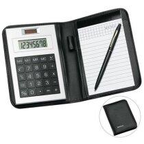 Calculadora solar con bloc de notas