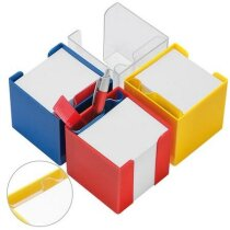 Porta tacos de notas de plástico 10x10x10 cm