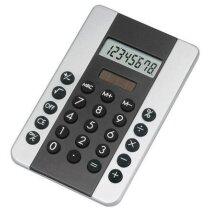 Calculadora de sobremesa solar plata