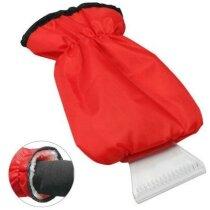 Rascador de hielo con guante ajustable grabada