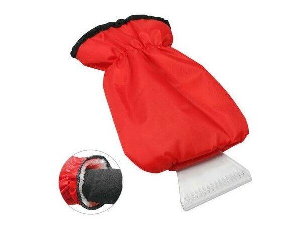 Rascador de hielo con guante ajustable