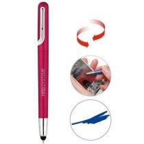 Bolígrafo en plástico con puntero táctil personalizado