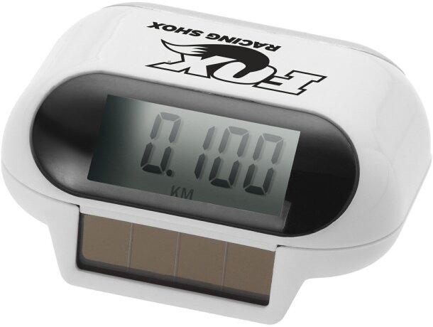 Podómetro de alimentación solar