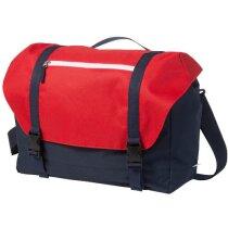 Bolsa con espacio para portátil de 15 pulgadas personalizada roja
