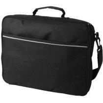 "Bolsa maletín para portátil de 15,4"" personalizada negro intenso"