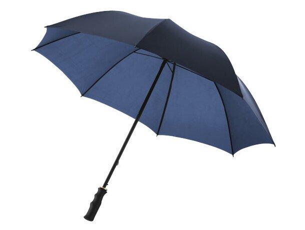 Paraguas de golf con varillas de metal personalizado azul marino