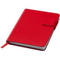 Bloc de notas sencillo y juvenil personalizada roja