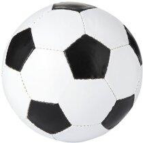 Balón de fútbol doble capa y 32 paneles blanco